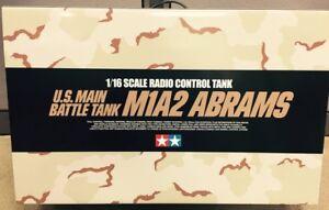 Tamiya-56041-1-16-RC-US-M1A2-Abrams-Full-Option-Kit-NEW-IN-BOX