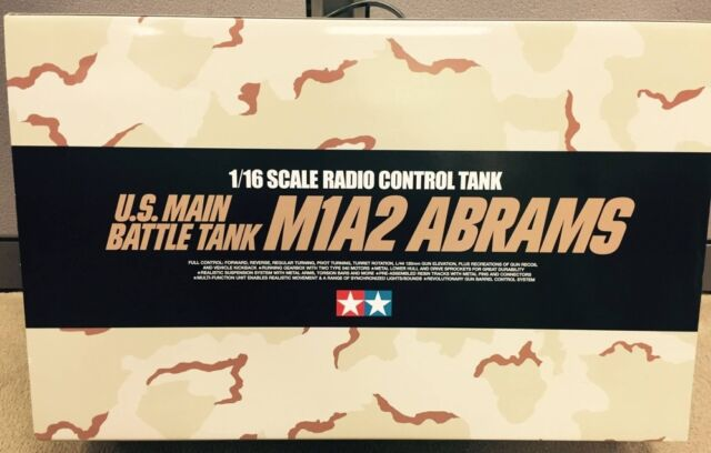 Tamiya # 56041 1/16 RC US M1A2 Abrams - Full Option Kit   NEW IN BOX