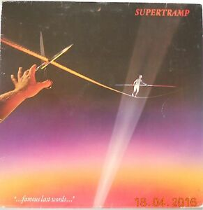 SUPERTRAMP-FAMOUS-LAST-WORDS-1ST-UK-PRESS-VINYL-LP-1982-VGC