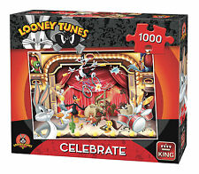 1000 Piece Jigsaw Puzzle Looney Tunes Bugs Bunny Cartoon Capers Celebrate 05598