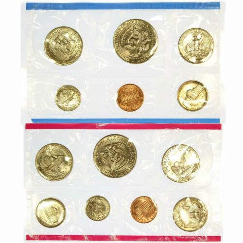 1981 Mint Set Original Envelope 13 Brilliant Uncirculated US Coins BU