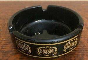 Golden-Nugget-Gambling-Hall-Casino-Downtown-Las-Vegas-Vintage-Ashtray-Black