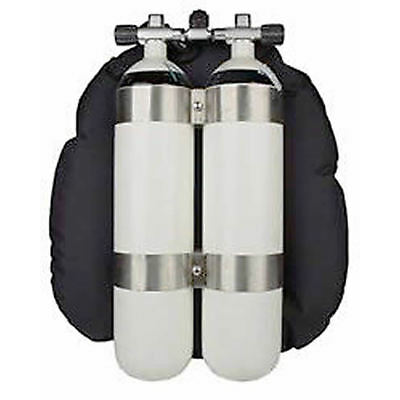 DIR - Style Doppelflasche, Doppel 10 Liter 300 Bar BTS Scubatec O²clean