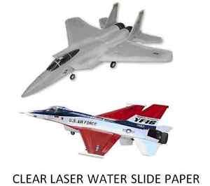 Water slide paper