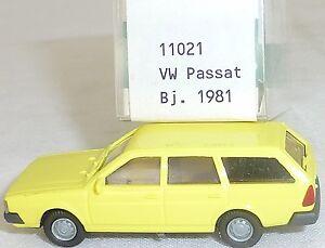 Citron-vw-passat-BJ-1981-Mesureur-EUROMODELL-11021-h0-1-87-OVP-ho-1-a