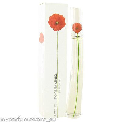 KENZO FLOWER 100ml EDT SPRAY FOR WOMEN BY KENZO ------------------ NEW PERFUME #