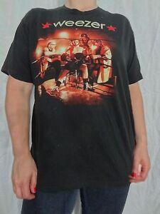 Weezer-Summer-Tour-2009-T-shirt-Size-Mens-L-Juniors-XL-Rock