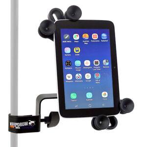 Keepdrum-variable-Tablet-Halterung-iPad-Halter-fuer-alle-Groessen-mit-Stativklemme