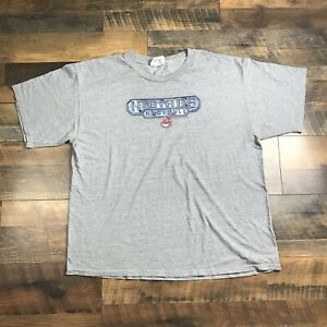 CLEVELAND-INDIANS-Men-s-Size-XL-Short-Sleeve-T-Shirt-Chief-Wahoo-Extra-Large