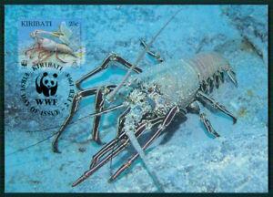 Discipliné Kiribati Mk 1998 Faune épines-langouste Homard Langouste Maximum Carte Mc Cm En58-e Lobster Langouste Maximumkarte Mc Cm En58fr-fr Afficher Le Titre D'origine Complet Dans Les SpéCifications