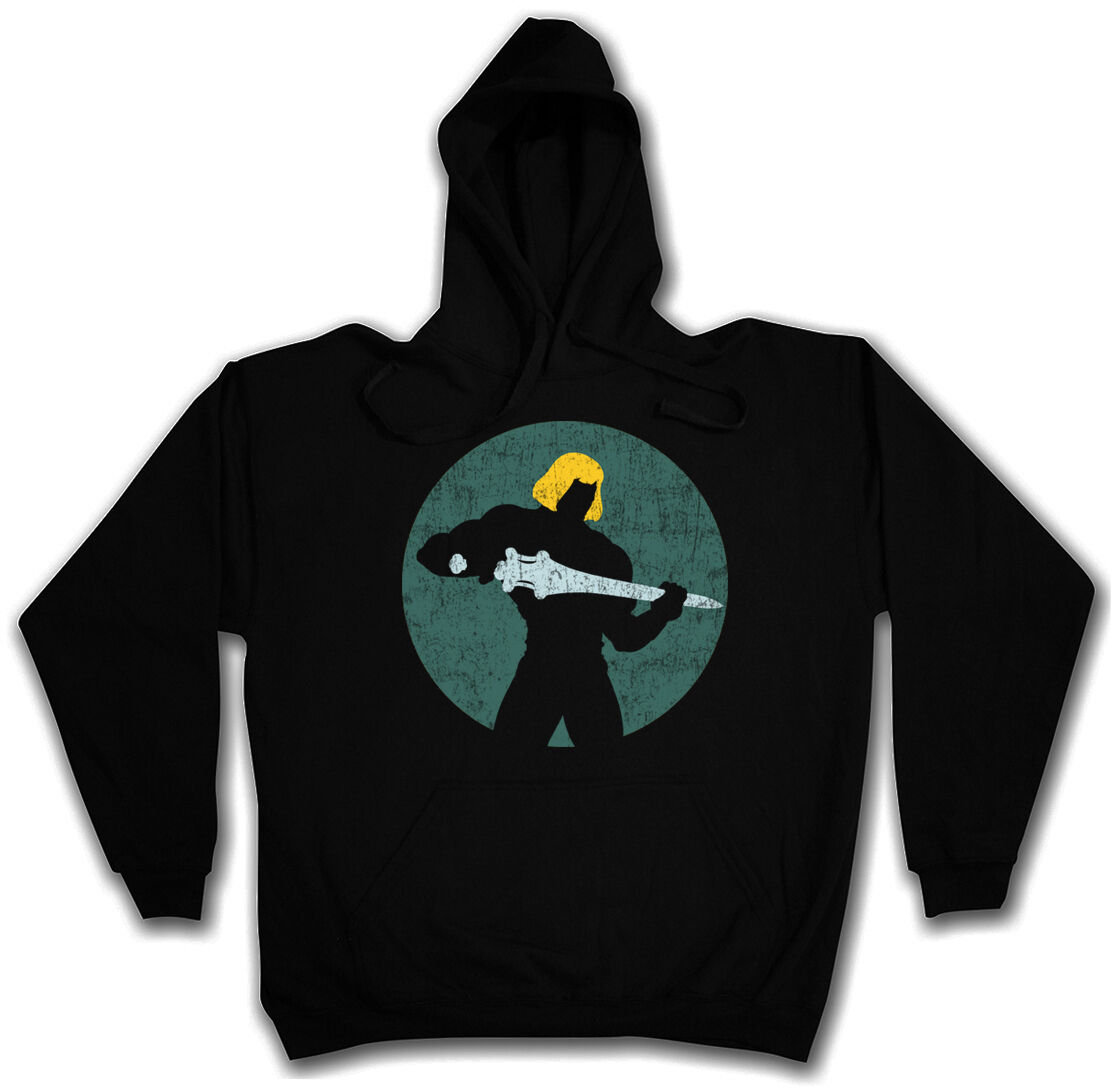 size 40 0fa68 d1955 MASTER LOGO I HOODED SWEATSHIRT HOODIE Masters of the He Battle Cat  Universe Man