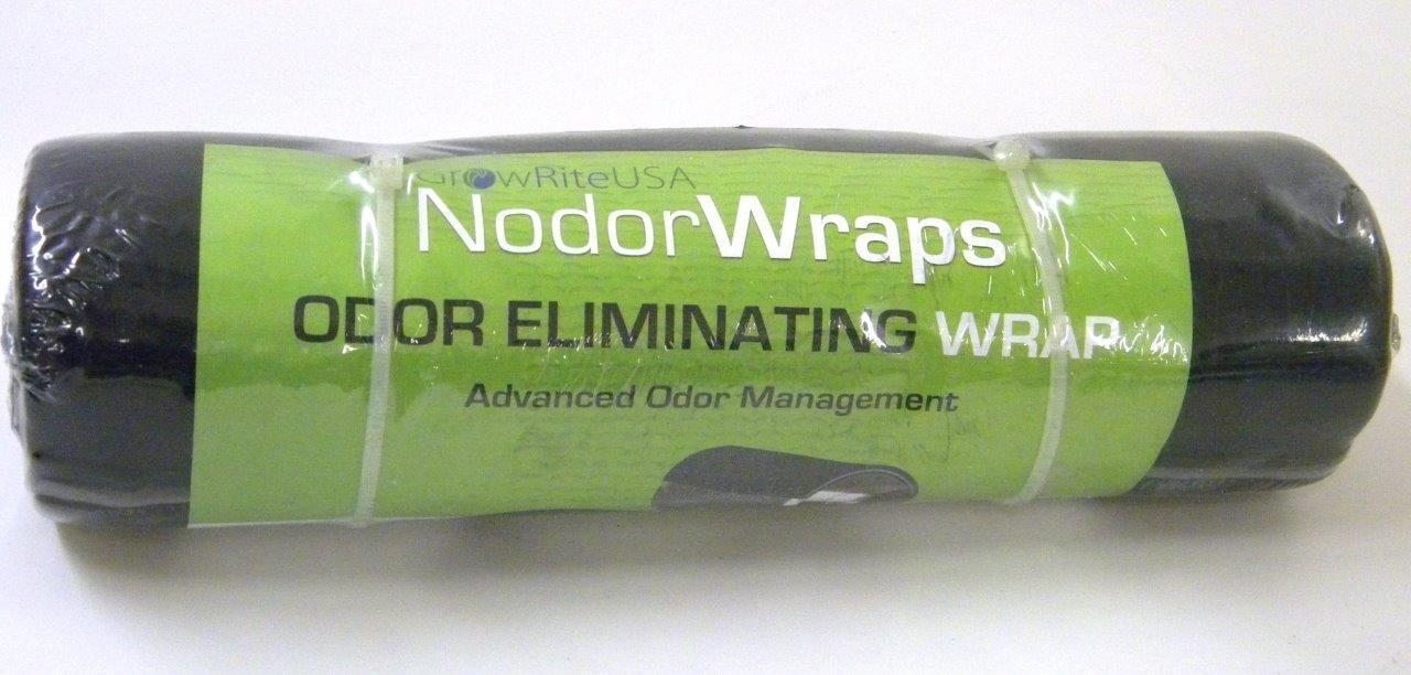 "GrowRiteUSA 12 x 30"" NodorWrap Mineral Filter Nodor Odor Eliminating Wrap"