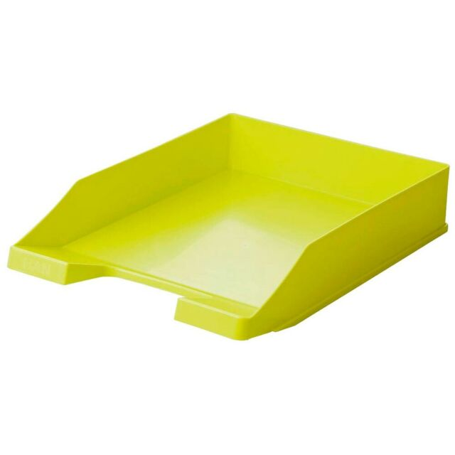 5X Briefkorb Ablage Briefablage Ablagekorb Briefkörbe Ablagesysteme A4 lemon HAN