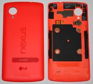 ORIGINAL-LG-D820-D821-Nexus-5-Backcover-Rot-Akkudeckel-Cover-Rueckseite-Red-Rouge