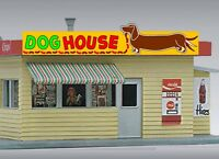 Miller's Dog House Animated Neon Sign O/ho Scale Miller Engineering 88-2451