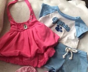 Build A Bear Clothing Dance T Shirt Outfit Shorts Haler Dress Lot Ebay