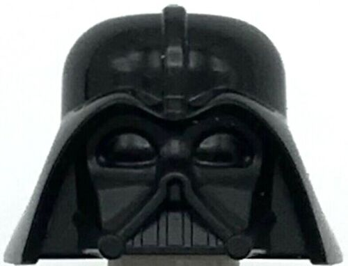 Lego New Black Minifigure Headgear Helmet Star Wars Darth Vader Sith Lord