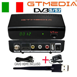 Full HD Decoder Digitale satellitare DVB-S2 TV SAT V7S2X Ricevitore,multi-stream