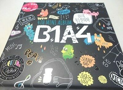 B1A4-4th Mini Album vol.4 [이게무슨일이야]:: CD+ 88p Photobook,Photosticker,Poster,Kpop
