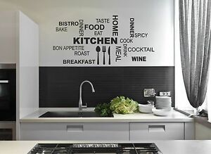 Kitchen-Wall-Quote-Stickers-Cafe-Vinyl-Art-Decals-decor-transfer-DIY