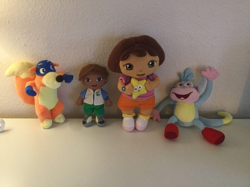 Dukke bamser, Dora, Boots