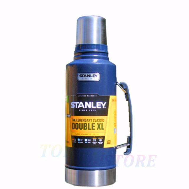 Stanley Classic 1.9L Stainless Steel Thermos Flask Vacuum Insulated Bottle Nav
