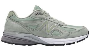 separation shoes aba2d d7774 Details about New Balance MENS M990SM4 990 SILVER MINT MADE IN USA RUNNING  SNEAKERS 8-13