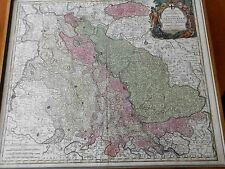 Mappa Geographica, Archiepiscopatum et Electoratum Coloniensem Karte 1760 Köln