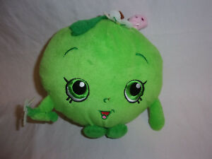 Shopkins-GREEN-APPLE-BLOSSOM-7-034-Plush-Soft-Toy-Stuffed-Animal
