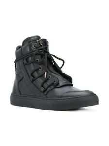 58c672a1f19d Helmut Lang H06HM001 Lace-Up High Tops Leather Size 43 Sneakers ...