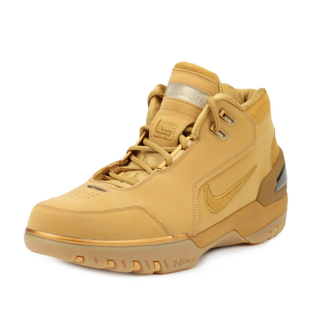 Nike Mens Zoom Generation ASG QS Retro Lebron James Wheat Gold AQ0110-700 b77aa6a1e