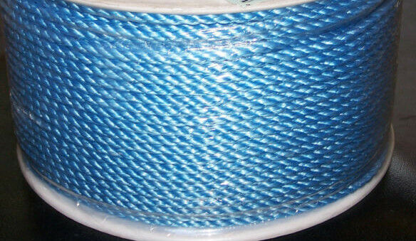 1100' Poly Pro Ocean Blue Sport Rope For Borders  1/2