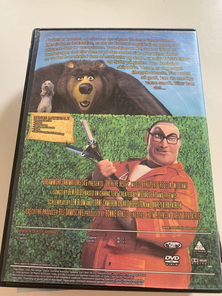 Over hækken , DVD, familiefilm