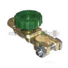Batterie Batterietrenner Trennschalter Polklemme Poltrenner Batterieklemme 6-24V