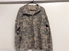 USGI US ARMY ACU DIGITAL AIRCREW TOP COAT BLOUSE ARAMID FLIGHT SHIRT MED / LONG