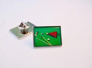 Snooker Tie Slide Clip Snooker Gift