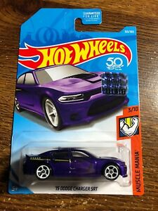 2018 Hot Wheels #313 Muscle Mania /'15 Dodge Charger SRT
