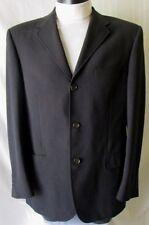 CC CORNELIANI Collection GIACCA Jacket TG.50  in LANA VERGINE 100% NERO Ottima!