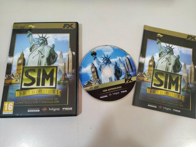Sim Anthology - JUEGO para PC en DVD-ROM en Español