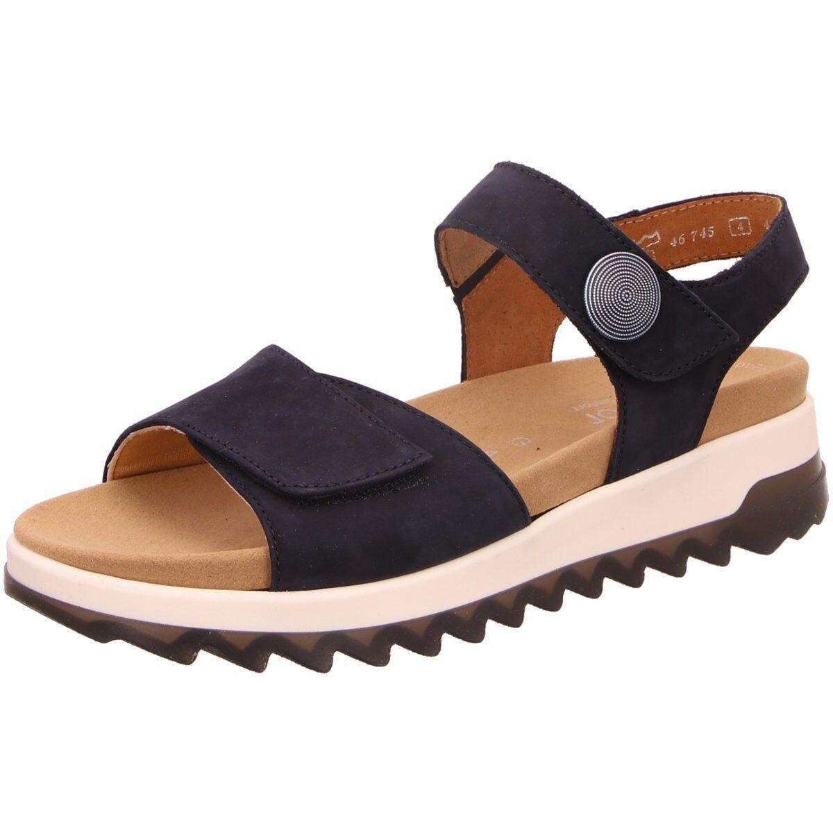 Gabor comfort Damen Sandaletten Florenz 46.745.46 blau 865744