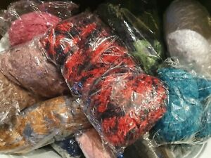 WHOLESALE-BUNDLE-KNITTING-CROCHET-WOOL-YARN-BALLS-1000g-RANDOM-MIXED-WHOLE-E