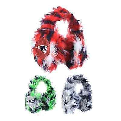 NFL Football Team Logo Oversized Plush Warm Winter Earmuffs - Pick Your Team!