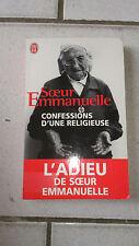 Soeur Emmanuelle - Confessions d'une religieuse