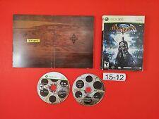 Batman Arkham Asylum Collector's Edition [Disc's Case + Discs Only] (Xbox 360)