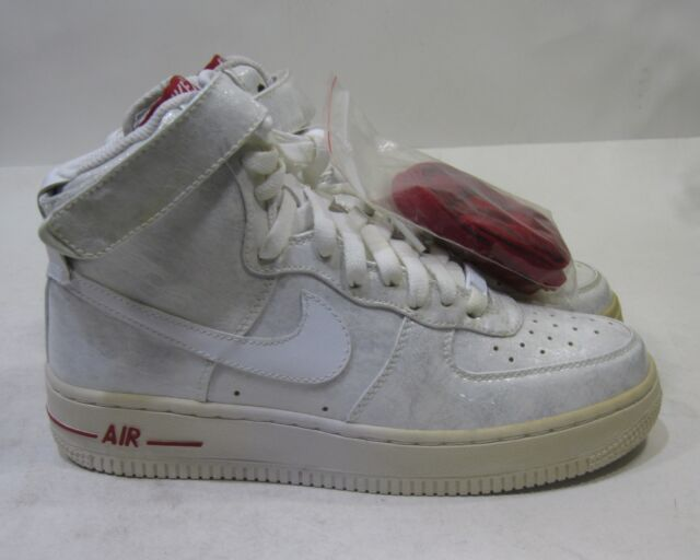 White High 344080 Size Force Nike Red Womens 9 Air Premium 1 111 v0mNnOy8w