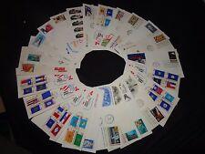 First Day Covers USA X 25 Sellos temas diversos (PQ) C1980's US Postal Service