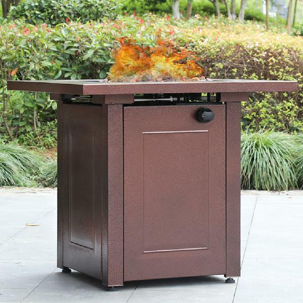 "Mainstays LP Gas Fire Pit, 28"" Bronze for sale online | eBay"