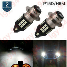 Yamaha Raptor 700 700R 2006-18 Tusk Super White Headlight Bulb 35W//35W H6M Pair