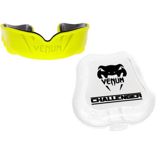 Venum Challenger Mouthguard - Black/Yellow