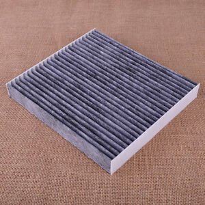 carbon fiber cabin air filter fit for lexus toyota camry corolla rav4 2006 2014 ebay. Black Bedroom Furniture Sets. Home Design Ideas